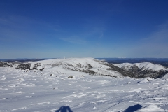 Mt Hotham from the summit of Mt Loch