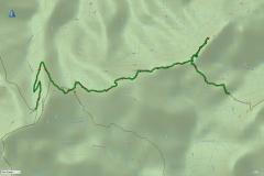 Camp creek to Viking Saddle via Mt Despair and The Razor