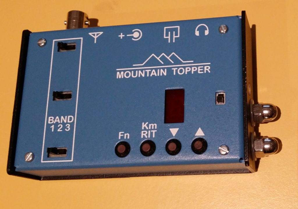 My MTR2 now with a touch paddle